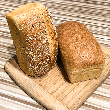 Whole Grain Red Fife Loaves